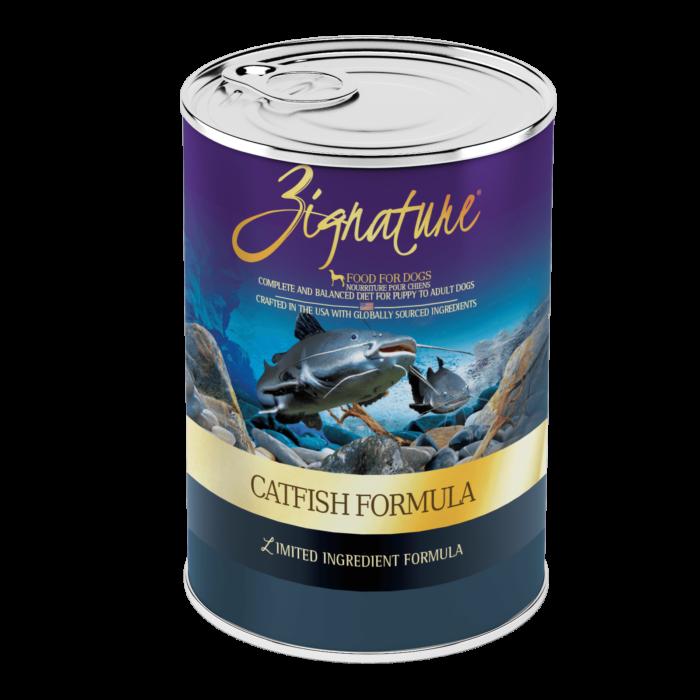 Zignature Catfish Formula Wet Dog Food
