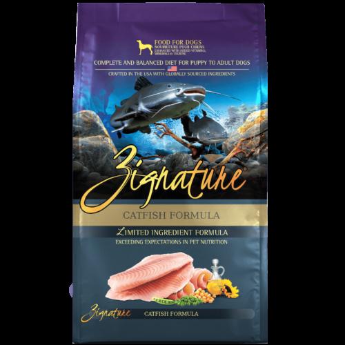 Zignature Catfish Formula Dog Food (4lb)