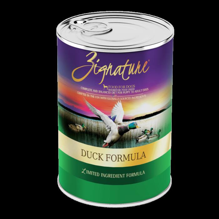 Zignature Duck Formula Wet Dog Food