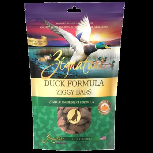 Zignature Duck Formula Biscuit Treats for Dogs