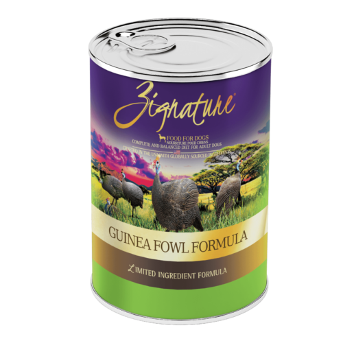 Zignature Guinea Fowl Formula Wet Dog Food