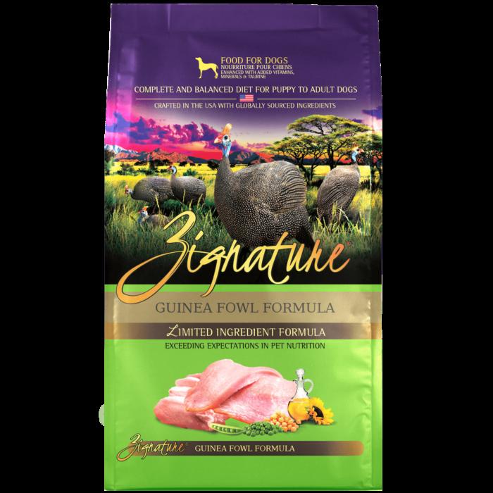 Zignature Guinea Fowl Formula Dog Food