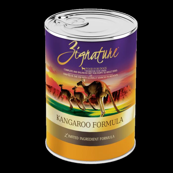 Zignature Kangaroo Formula Wet Dog Food