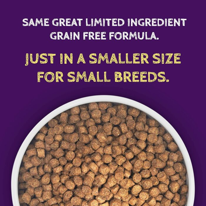Zignature Kangaroo Formula Small Bites Dry Dog Food (4lb)