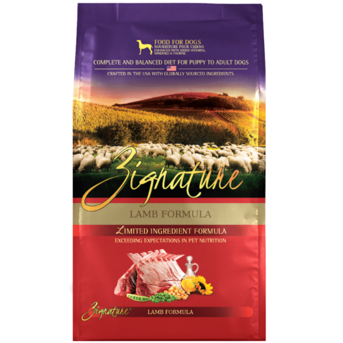 Zignature Lamb Formula Dog Food (4lb)