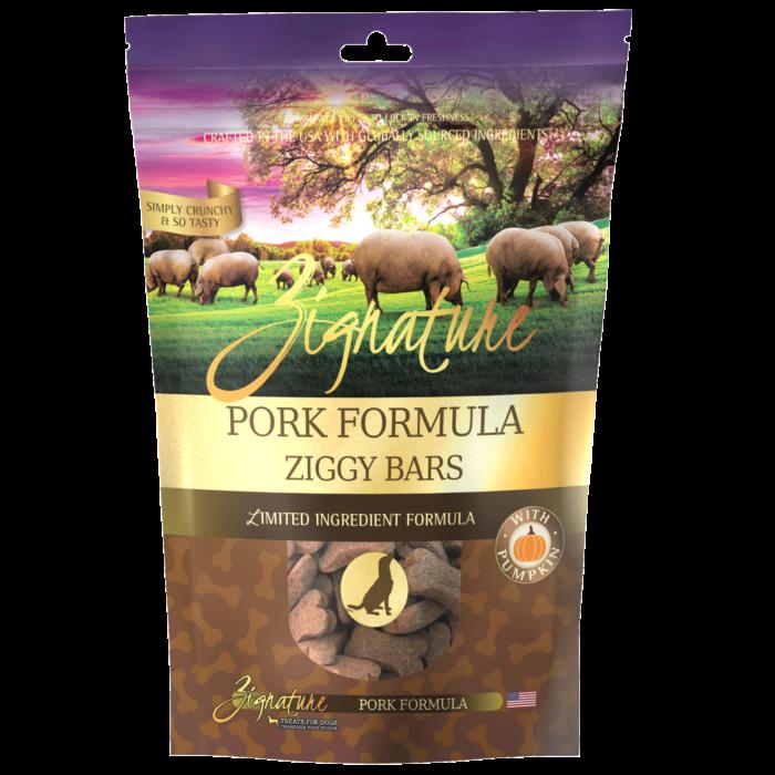 Zignature Pork Formula Biscuit Treats for Dogs