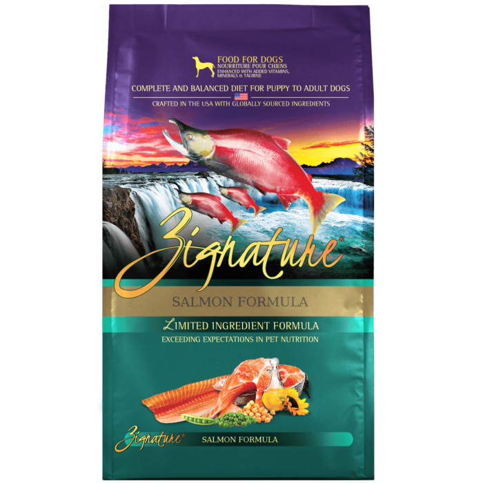 Zignature Salmon Formula Dog Food (4lb)