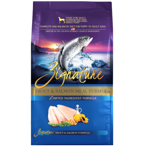 Zignature Trout & Salmon Meal Formula Dog Food (4lb)