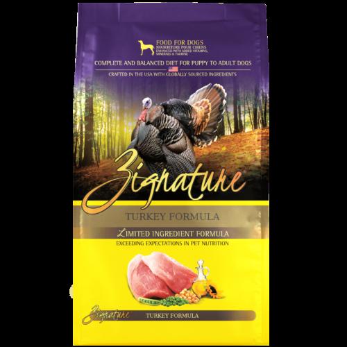 Zignature Turkey Formula Dog Food (4lb)