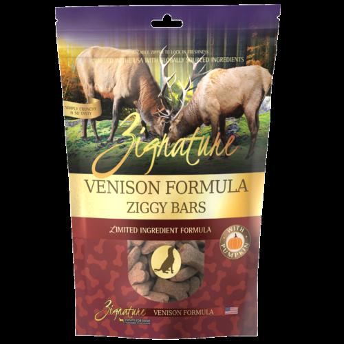 Zignature Venison Formula Biscuit Treats for Dogs