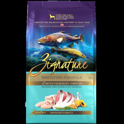 Zignature Whitefish Formula Dog Food (4lb)