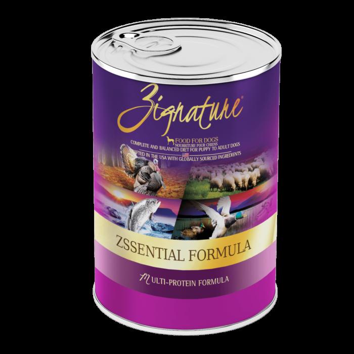 Zignature Zssential Formula Wet Dog Food