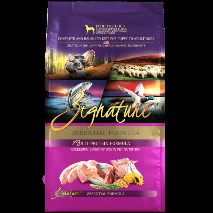 Zignature Zssential Formula Dog Food (4lb)