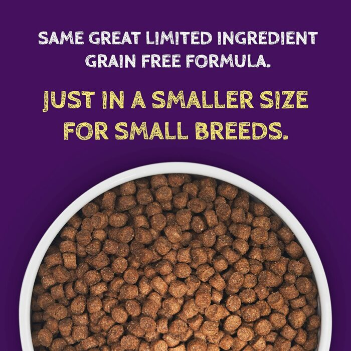 Zignature Lamb Formula Small Bites Dry Dog Food