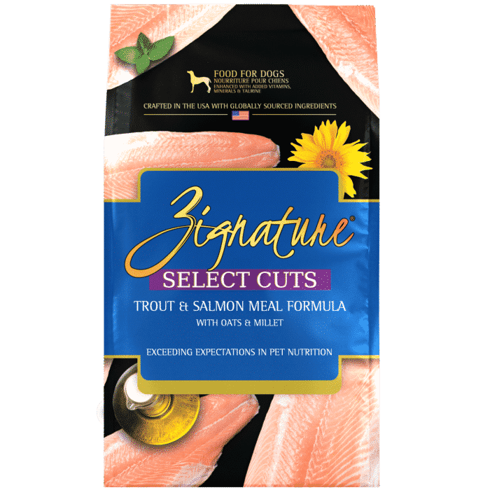 Zignature Select Cuts Trout & Salmon Formula