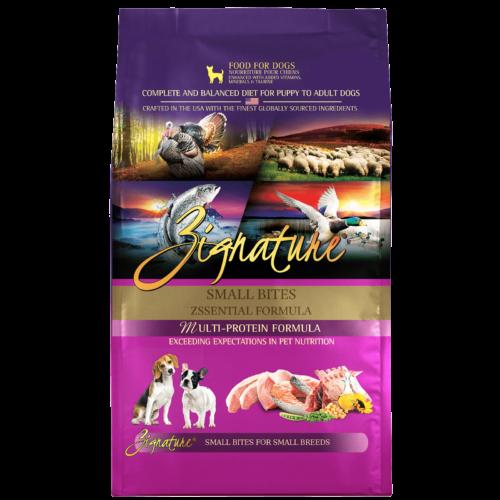 Zignature Zssential Formula Small Bites Dry Dog Food